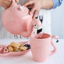 Чайник с кружками Фламинго