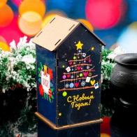 Чайный домик С Новым Годом. Ёлочка