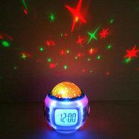 Часы-будильник Проектор звезд