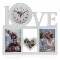 Часы-фоторамка Совы (3 фото)