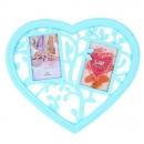 Фоторамка Ажурное сердце (2 фото)