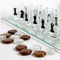 Игра Шахматы+шашки+карты (со стопками)