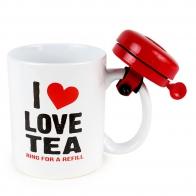 Кружка с звонком I Love Tea