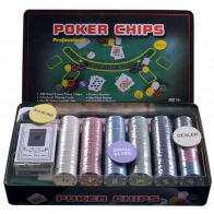 Набор для покера (300 фишек+сукно)