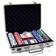 Набор для покера (200 фишек)
