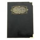 Обложка для паспорта Босс