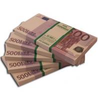 Пачка 500 евро