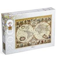 Пазл Историческая карта мира (2000 шт)
