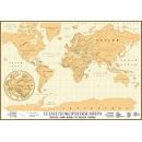 Скретч-карта План покорения мира (магнитная)