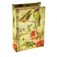 Сейф-книга Соловушки на розовом кусте