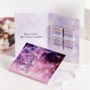 Шоколадная открытка С 8 марта (сирень)