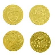 Шоколадная Старинная монета