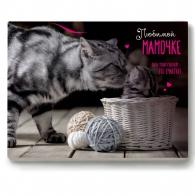 Шоколадный набор Любимой маме (кошечки) (12 шт)