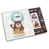 Шоколадный набор С днём рождения (воздушный шар)