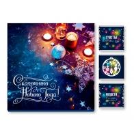Шоколадный набор Сказочного Нового года (свечки) (9 шт)