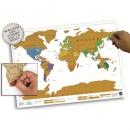 Скретч-карта мира True Map