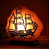 Соляной светильник Корабль