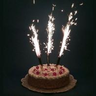 Свечи в торт Феерверк (4 шт)
