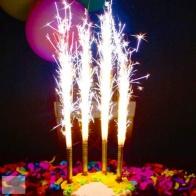 Свечи в торт Фейерверк (6 шт)