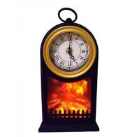 Светильник Часы-камин