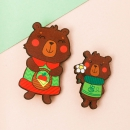 Значки Медведи (2 шт)